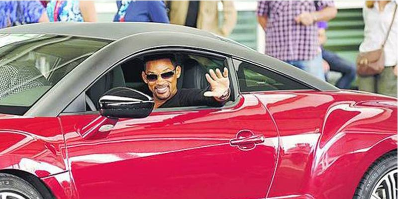 Will Smith.....and Peugeot?