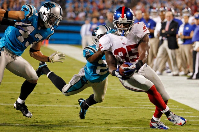 Giants 36, Panthers 7: The Game In Three GIFs