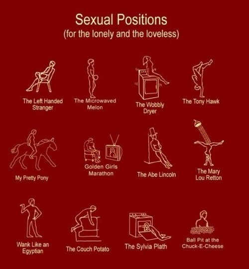 Sex Positions For The Solo • Study: French Women Do Get Fat