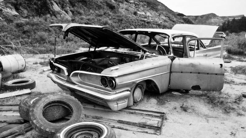 Picked apart Pontiac