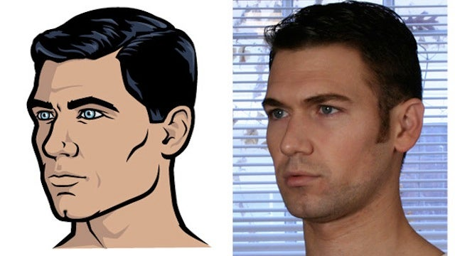 Meet the real people who loaned their faces to Archer's goofy spies