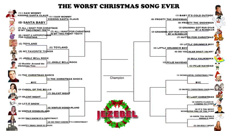 December Madness: Journey To The Worst Christmas Song Ever