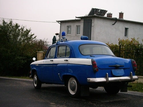 Moskvitch 407 Police Car