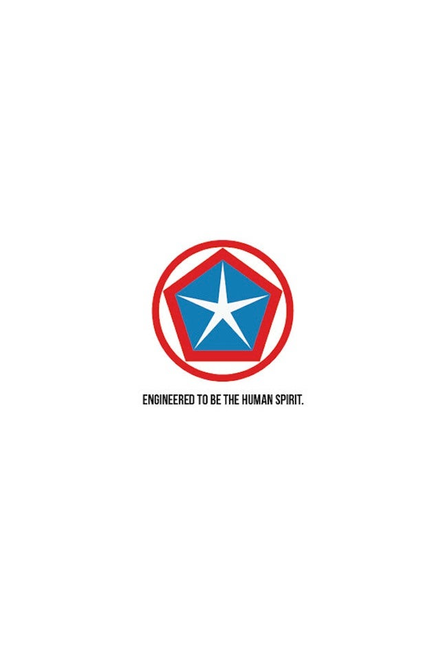 Avengers-themed car logo redesigns are quite beautiful