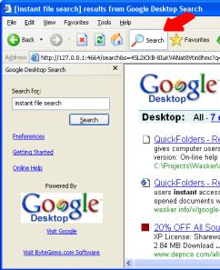 Hack Attack: Get more from Google Desktop