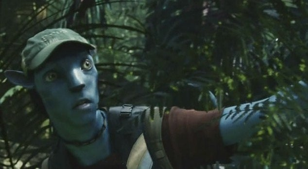 Guess which Na'vi princess got knocked up after the humans left?