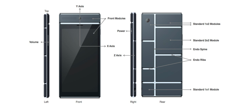 Google Reveals the Crazy Modular Phones Ara Will Let You Build