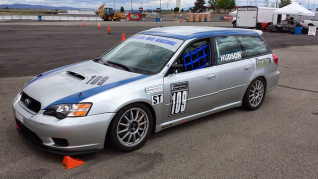 Subaru Legacy RS – Colin McRae's First Victorious Car