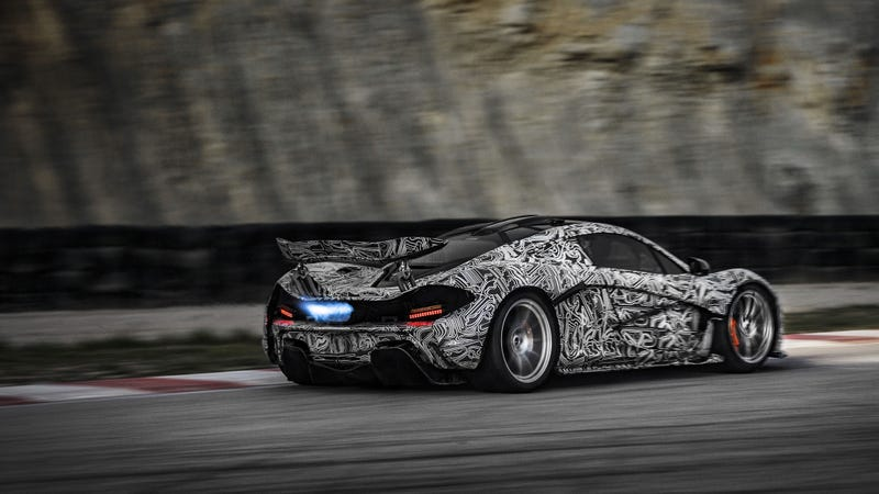 The McLaren P1 Has The Best Camouflage Ever