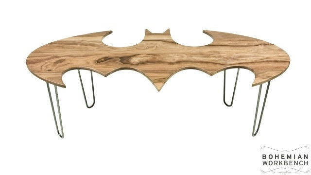 A Batman Coffee Table Bruce Wayne Wish He Had