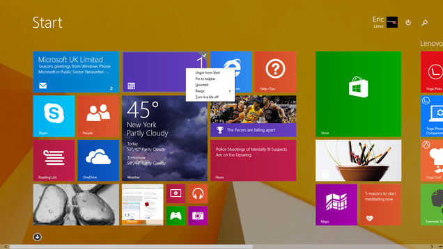 ​Windows 8.1 Update Hands On: Terrific Tweaks For the Mouse Faithful