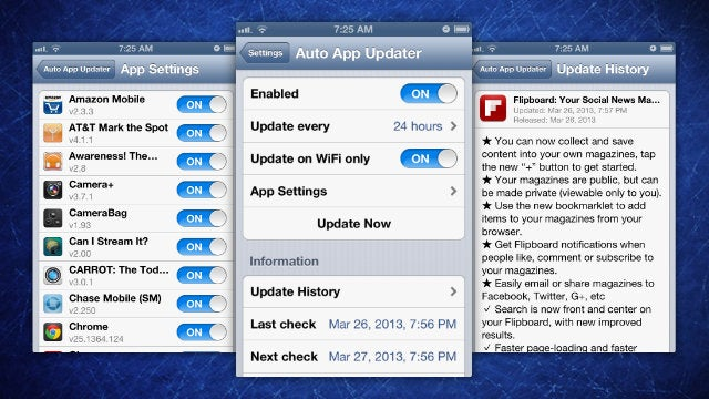 Auto App Updater Automates Your App Store Updates