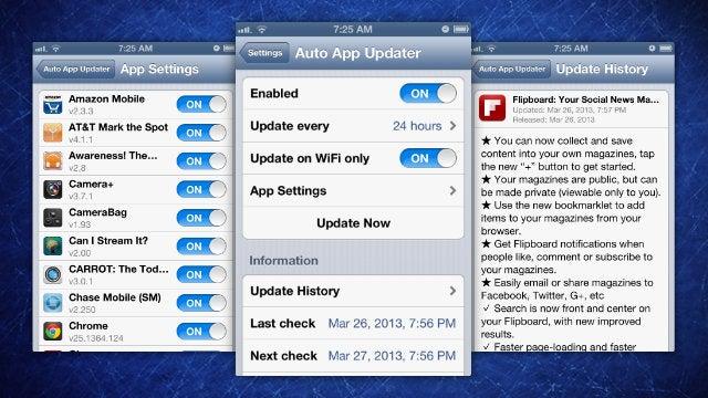 Auto App Updater Automates Your App Store Updates