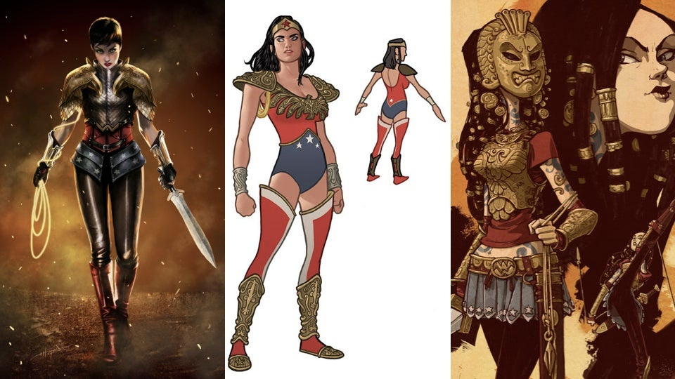Wonder Woman Costume Designs We'd Love To See On The Big Screen