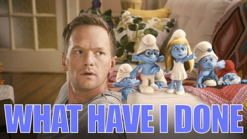 You can actually watch Neil Patrick Harris' soul being eaten in The Smurfs