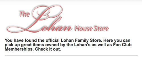 """Shopping With """"The Lohan's"""""""