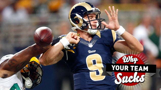 Why Your Team Sucks 2014: St. Louis Rams