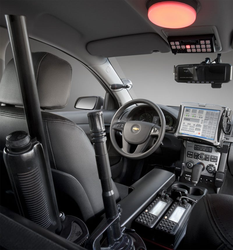New Chevy Caprice Most High-Tech Cop Car Ever