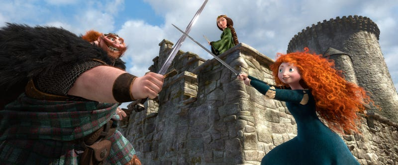 New Images From Pixar's Brave
