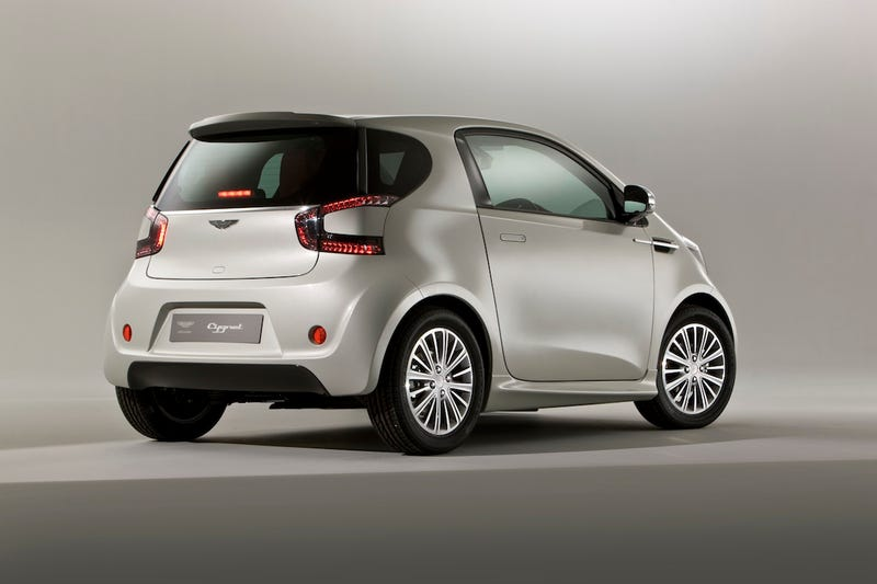 "Aston Martin Cygnet: ""No Mr. Bond, I Expect You To Die Of Embarrassment"""