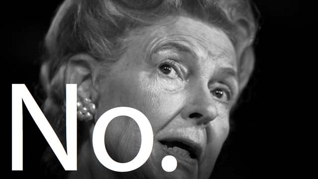 Phyllis Schlafly Is Still A Cranky Asshole Who Doesn't Get It