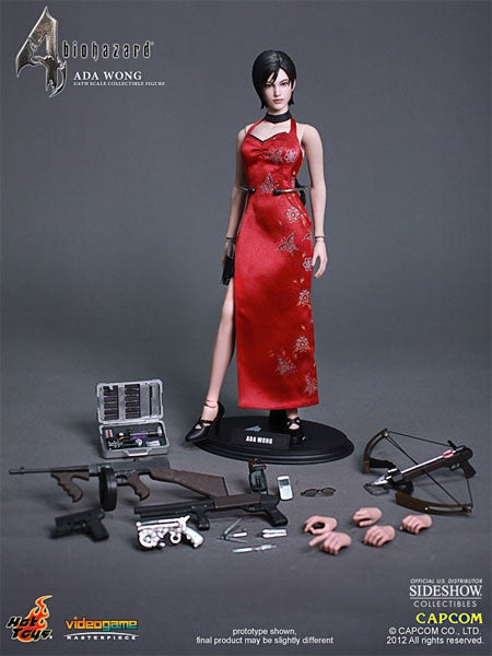 This is an Ada Wong Action Figure, Not a Doll, OK?