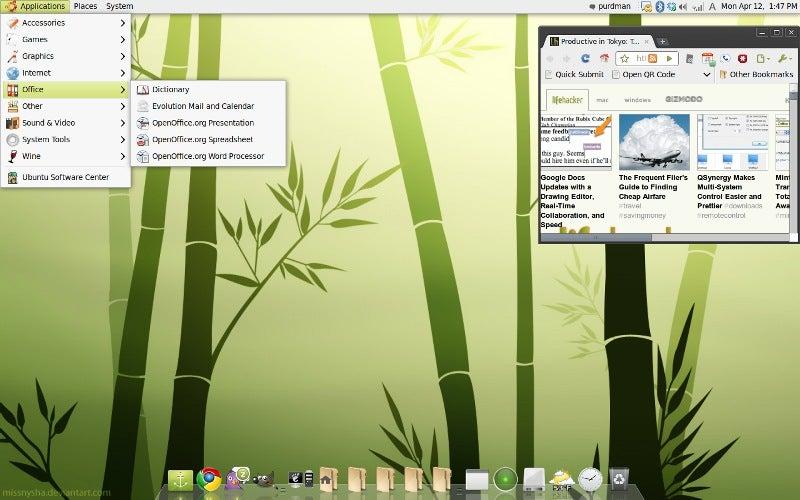 Bisigi Themes Remix Ubuntu in Eye-Opening Ways - Gallery