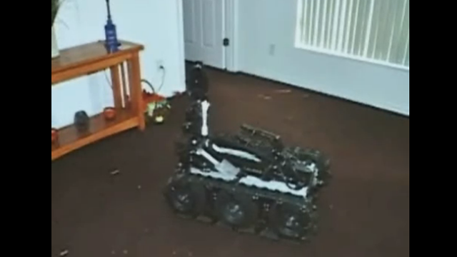 Suicidal Man Feels Better After Shooting a Police Robot With an AK-47 (Update: Video!)