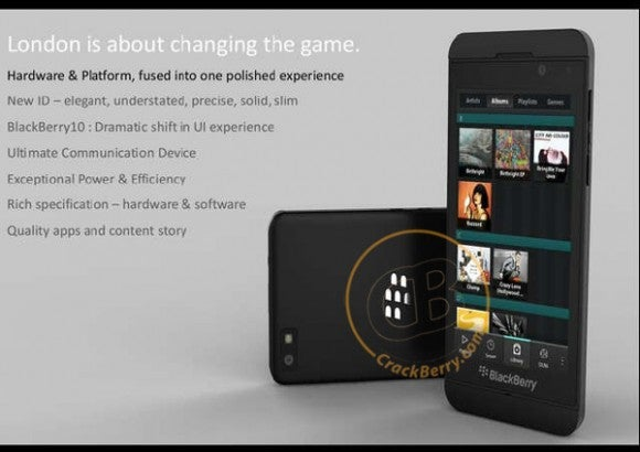 Is This the New BlackBerry 10 Superphone?