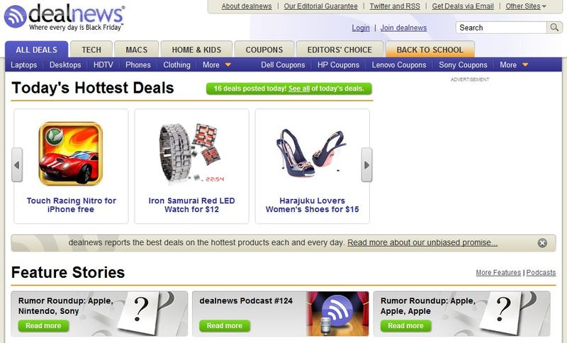 Five Best Deal-Hunting Sites