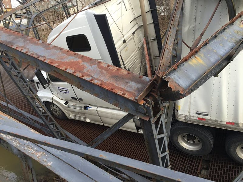 Trucker Destroys Historic Bridge Because She Didn't Know How Many Pounds Six Tons Was