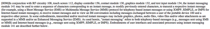 iPhone Instant Message Patent Points to Upcoming MMS, Background IMs, GPS Module