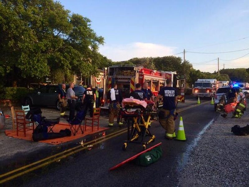 Thirteen Injured After S.C. Deck Collapses During Photo Op