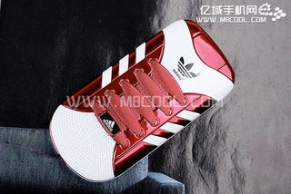 Adidas Sneaker Phone Must Be Really Fast