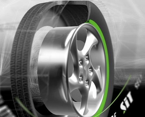 Self Inflating Tire Could End Under-Inflation