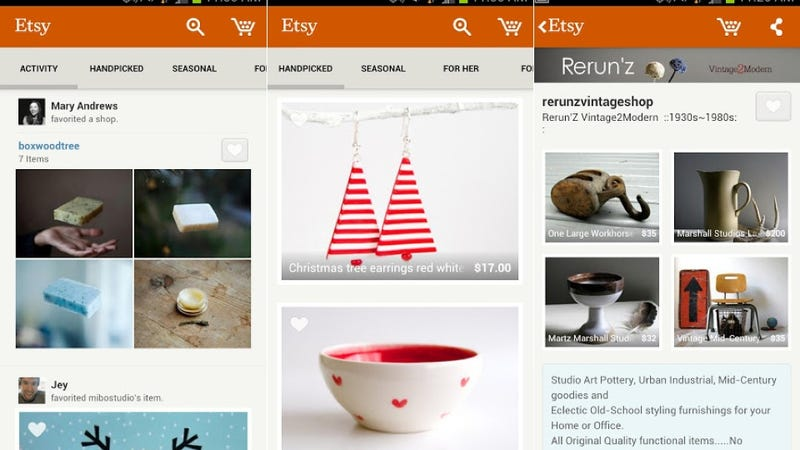 Snapseed, Etsy for Android, and More