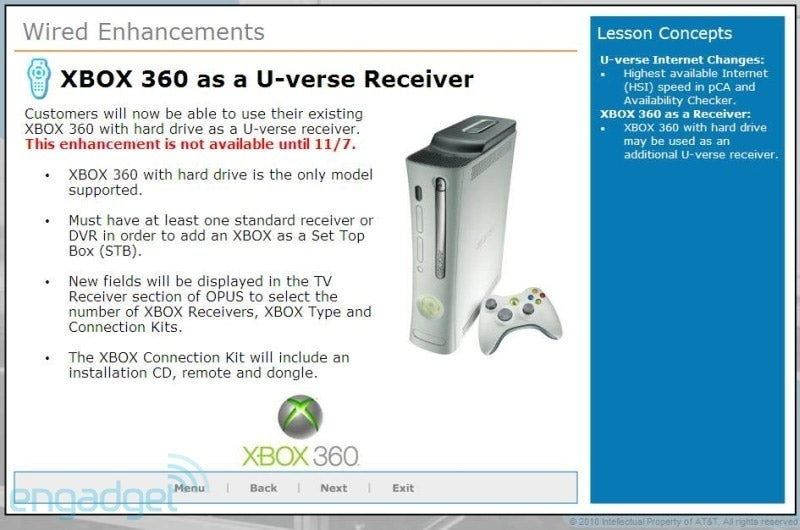 Xbox 360's AT&T TV Service Launches In November