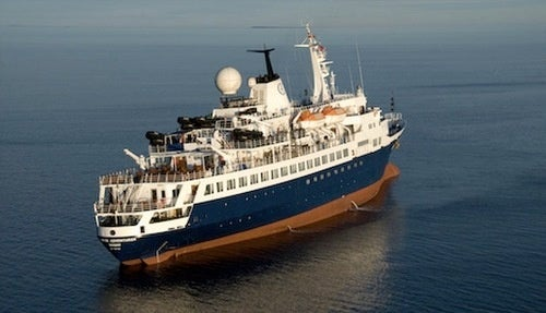 Cruise Ship Stranded in Arctic Circle, Rescued by Canada