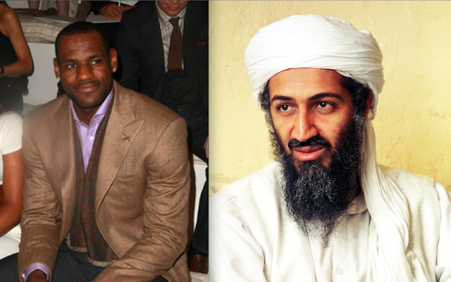 Why Yes, One Cleveland Writer Did Make Osama Bin Laden's Death About LeBron James