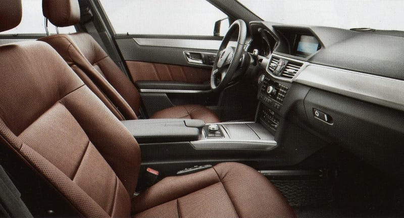 2010 Mercedes E-Class Brochure Leaks Ahead Of Detroit