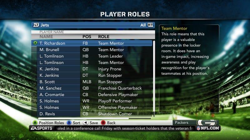 Madden NFL 12 Franchise Mode Gallery