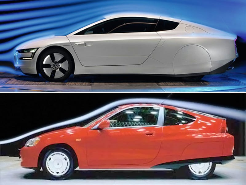 Honda Shamelessly Rips Off Volkswagen With 1999 Insight