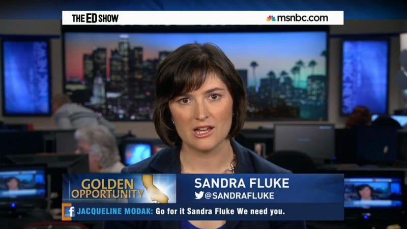 Sandra Fluke Acknowledges Rush Limbaugh Put Her in the Limelight