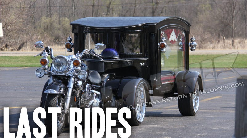 Yes, This Is A Harley-Davidson Hearse