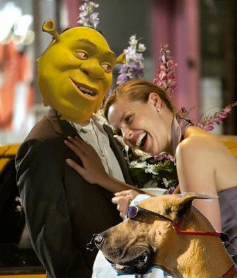 Shrek Fights Off Gun-Toting Katherine Heigl and Hip Dog for Box Office Victory