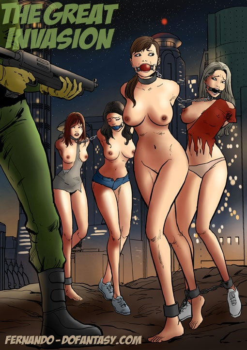 The Naughtiest Dystopian Fetish Comics (NSFW)
