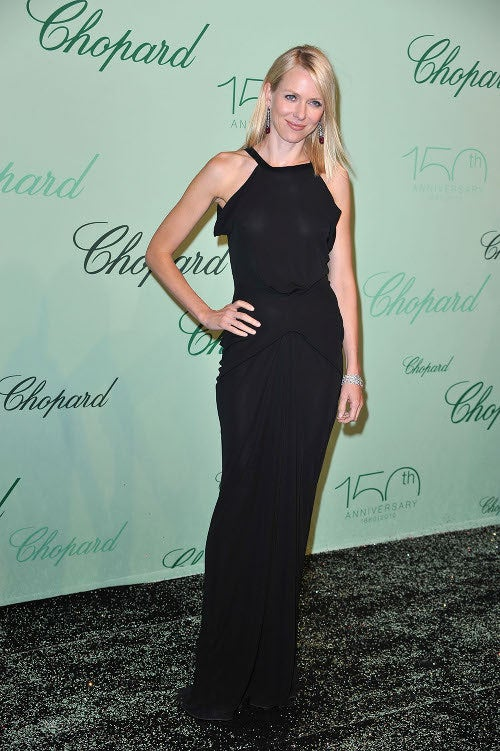 Feathered Shoes, Mesh Socks, Schoolgirls & Paris Hilton At Cannes Chopard Party
