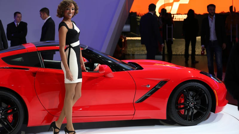 The Booth Professionals Of The Geneva Motor Show