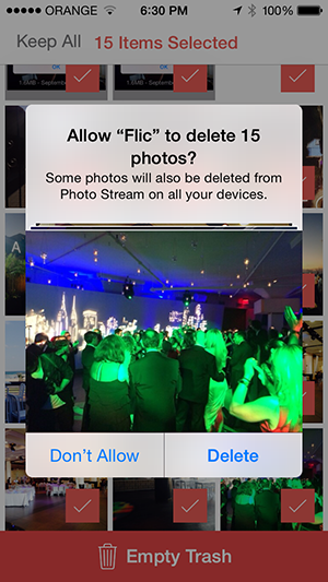 iOS App Flic Is Basically Tinder For Your Photo Library