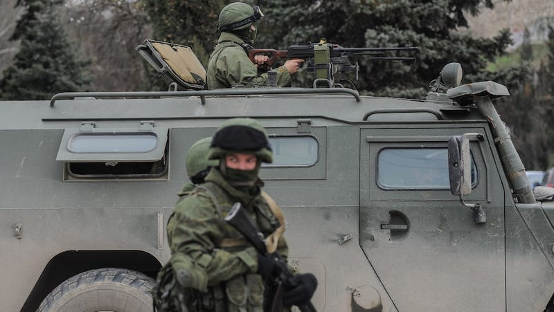 Russian Federation Council Okays Troop Deployment in Ukraine